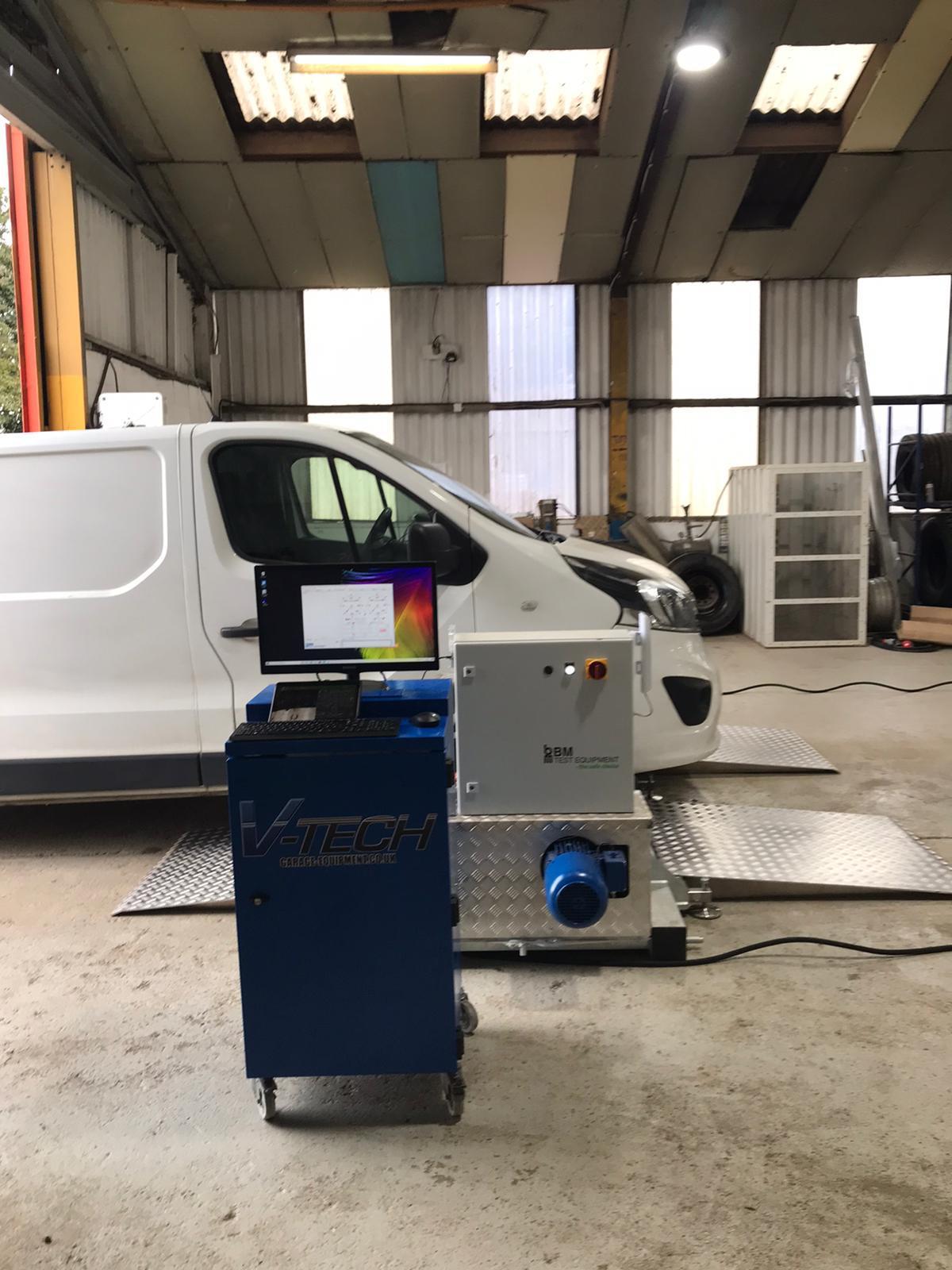 bm mobile brake tester instal